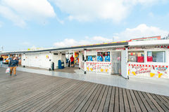 Stall at the Brighton Pier Royalty Free Stock Images