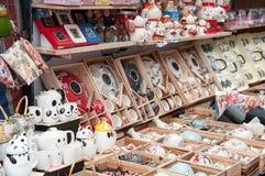 Stall an Dame Street Market, Hong Kong Stockfoto