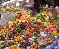 stall för 2 frukt Arkivbild