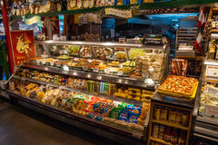 Stall at Granville Island Public Market in Vancouver Stock Image