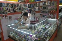 Stall am Markt Lizenzfreie Stockbilder
