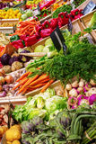 Stall of a Provencal farmers market Royalty Free Stock Photos