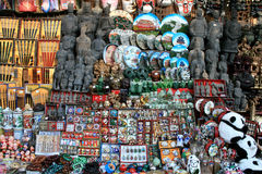 Stall of souvenirs Stock Photography