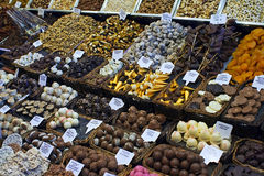 Stall with sweets Royalty Free Stock Photo