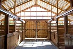 Stall-Türen lizenzfreies stockbild