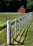 Stall und Zaun Stockbild