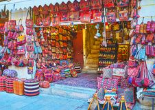 Handmade accessories in ethnic style, Shiraz Stock Photography