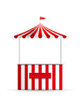 Stall. Vector illustration of a stall royalty free illustration