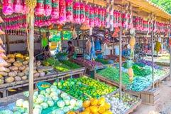 Stalla del bordo della strada nello Sri Lanka fotografie stock libere da diritti