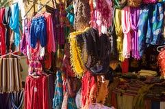 Stalla del mercato Fotografia Stock
