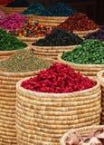 Stalla del mercato di Marrakesh immagine stock libera da diritti
