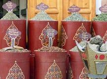 Stalla del mercato di Marrakesh fotografia stock libera da diritti
