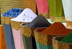 Stalla del mercato di Marrakesh immagini stock libere da diritti