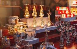 Stalla del mercato di Natale Immagine Stock Libera da Diritti