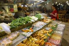 Stalla della corte di alimento di opera a Singapore Fotografia Stock