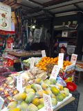 Stalla della frutta Fotografia Stock Libera da Diritti