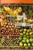 Stalla della frutta in Etiopia fotografia stock libera da diritti