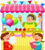 Stalla di Candy Immagini Stock Libere da Diritti