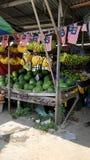 Stalla di frutti Immagine Stock