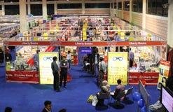 Stalla di libri di libertà ad ottavo KIBF Fotografia Stock