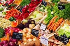 Stalla di un mercato degli agricoltori di Provencal Fotografia Stock
