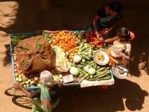 Stalla di verdure ambulante Fotografie Stock