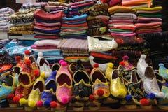 Stalla turca della scarpa Fotografia Stock