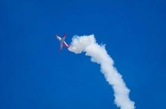 Stalle aérodynamique à un salon de l'aéronautique Image stock