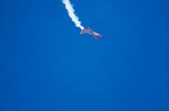 Stalle aérodynamique à un salon de l'aéronautique Photos libres de droits