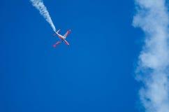 Stalle aérodynamique à un salon de l'aéronautique Photographie stock libre de droits