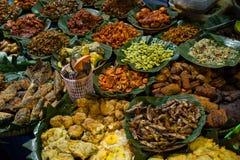 Stalle 1, bloc M, Jakarta de nourriture de rue Photographie stock libre de droits