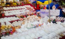 Stalle de marché en plein air Image stock