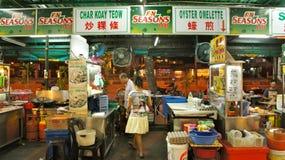 Stalle de nourriture à Penang Image libre de droits