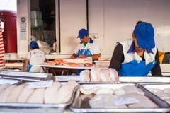 Stalle de poissons Photographie stock libre de droits