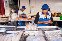 Stalle de poissons Image stock