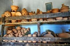 Stalle de poterie photographie stock libre de droits