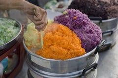 Stalle de riz Photographie stock