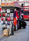 Stalle de rue de Londres Photographie stock
