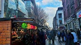 Stalle de rue Manchester Images libres de droits