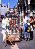 Stalle de souvenir, Venise Photos libres de droits