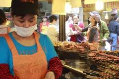 Stalle del barbecue Fotografia Stock Libera da Diritti