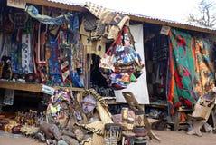 Stalle del ricordo da Victoria Falls fotografia stock libera da diritti