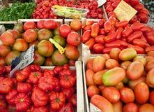 Stalle du marché en Italie Image libre de droits
