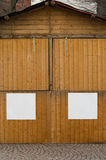 Stalle fermée Images libres de droits