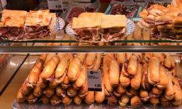 Stalle fraîche de sandwich Photos libres de droits