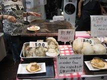 Stalle grillée de Shell et de fruits de mer Photos stock