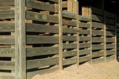 Stalles de cheval Photos stock