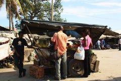 Stallhållare mombasa Fotografering för Bildbyråer