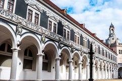 Stallhof in Dresden Lizenzfreies Stockbild