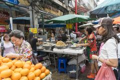 Street food in Bangkok Royalty Free Stock Images